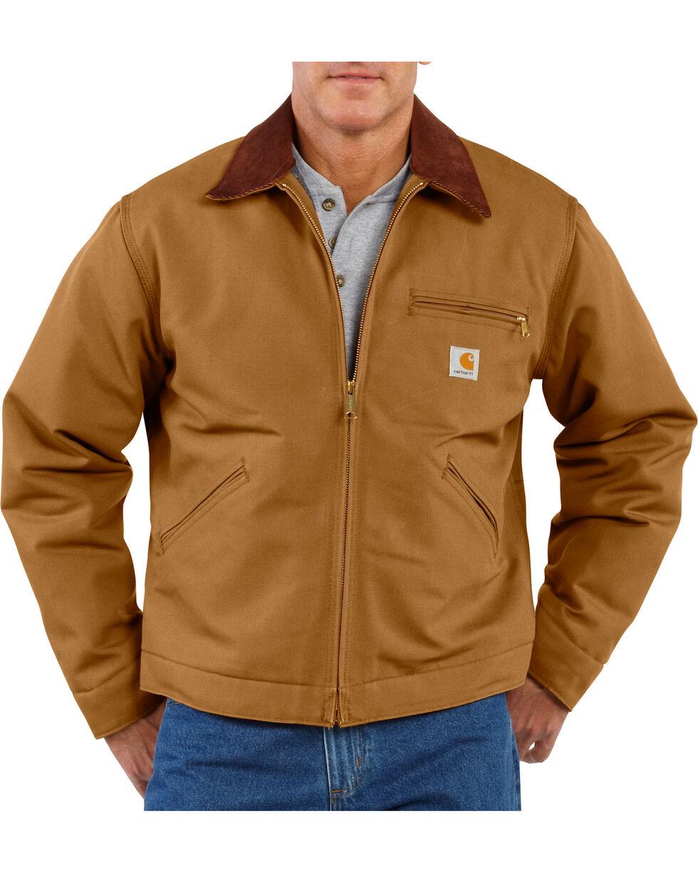 Carhartt Men's Duck Detroit Jacket, Carhartt Brown, hi-res