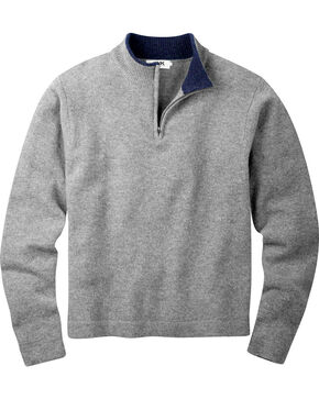 Mountain Khakis Men's Heather Grey Lodge Crewneck Sweater , Hthr Grey, hi-res