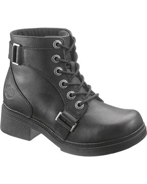 Harley-Davidson Women's Celia Boots, Black, hi-res