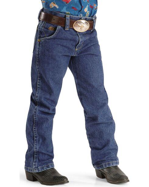 George Strait by Wrangler Boy's Jeans Size 8-16, Denim, hi-res
