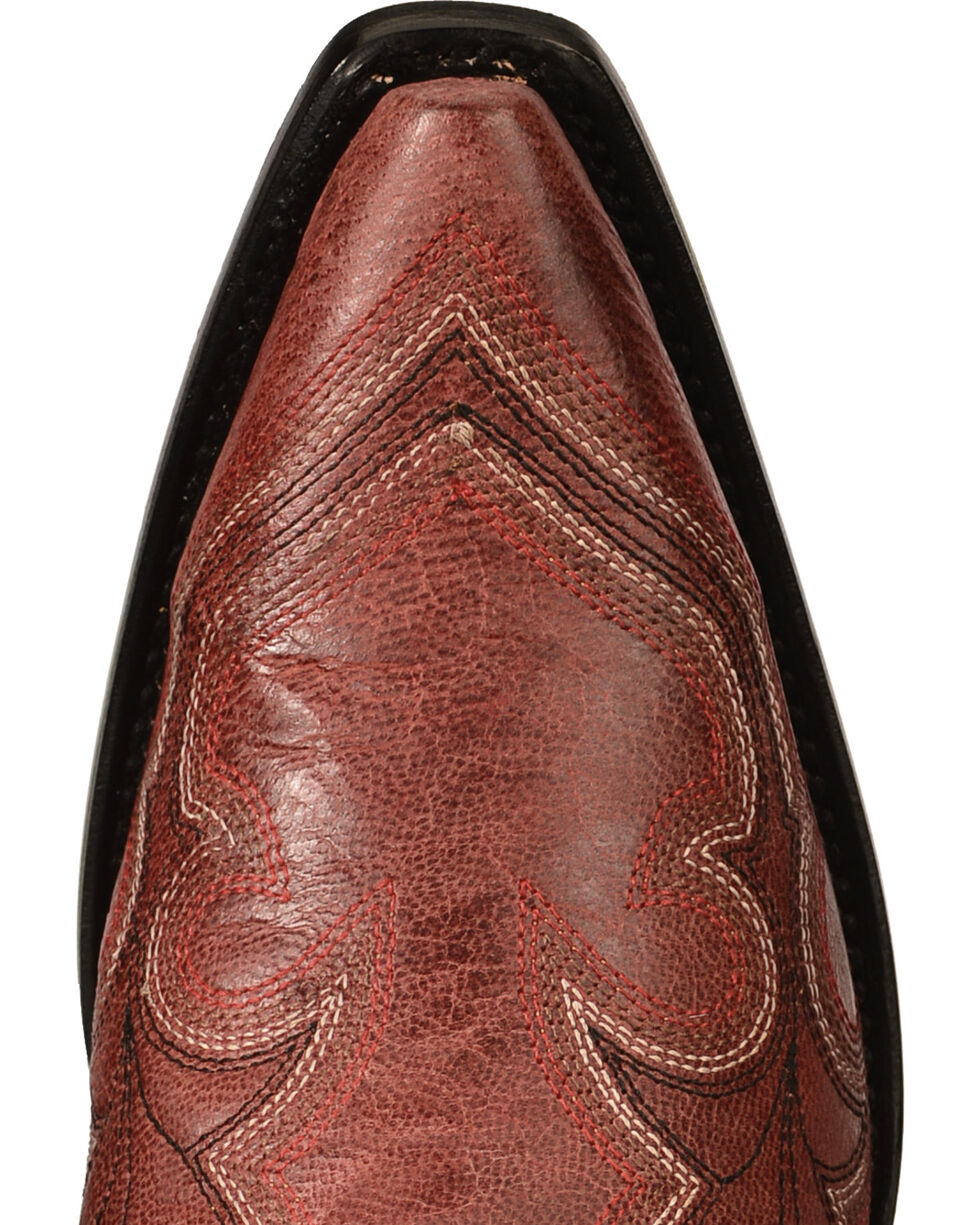 Corral Women's Desert Stitched Western Boots, Red, hi-res