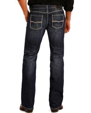 Rock and Roll Cowboy Pistol Dark Wash Jeans - Straight Leg , Indigo, hi-res