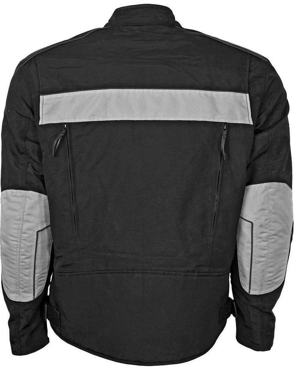 Interstate Leather Men's Cordura Reflective Jacket, , hi-res
