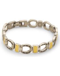 Sabona Men's Horseshoe Magnetic Bracelet, , hi-res