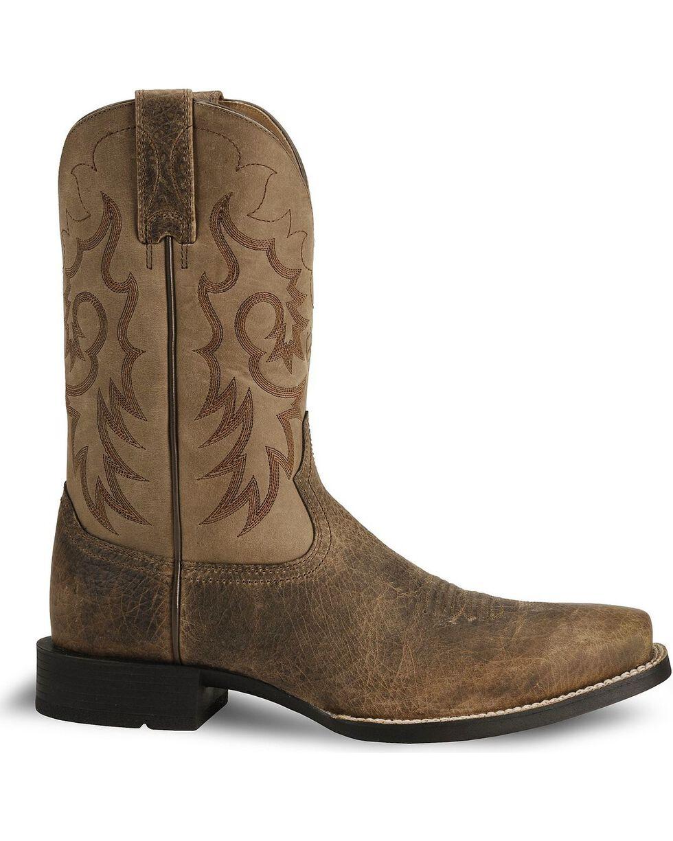 "Ariat Men's Heritage Reinsman 11"" Western Boots, Earth, hi-res"