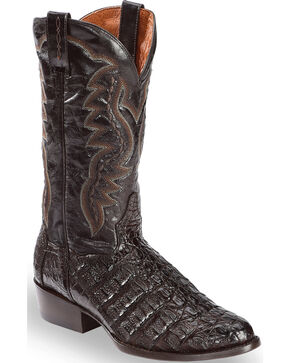 Dan Post Men's Birmingham Western Boots, Chocolate, hi-res