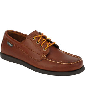 Eastland Men's Tan Falmouth Camp Mocs, Tan, hi-res