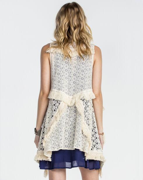 Miss Me Women's Sweet Sahara Vest, Natural, hi-res
