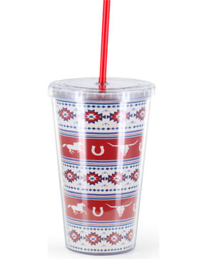 BB Ranch® Americana Horse Tumbler, No Color, hi-res