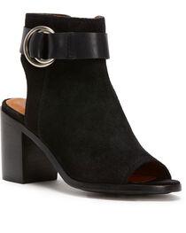 Frye Women's Black Danica Harness Shoes , , hi-res