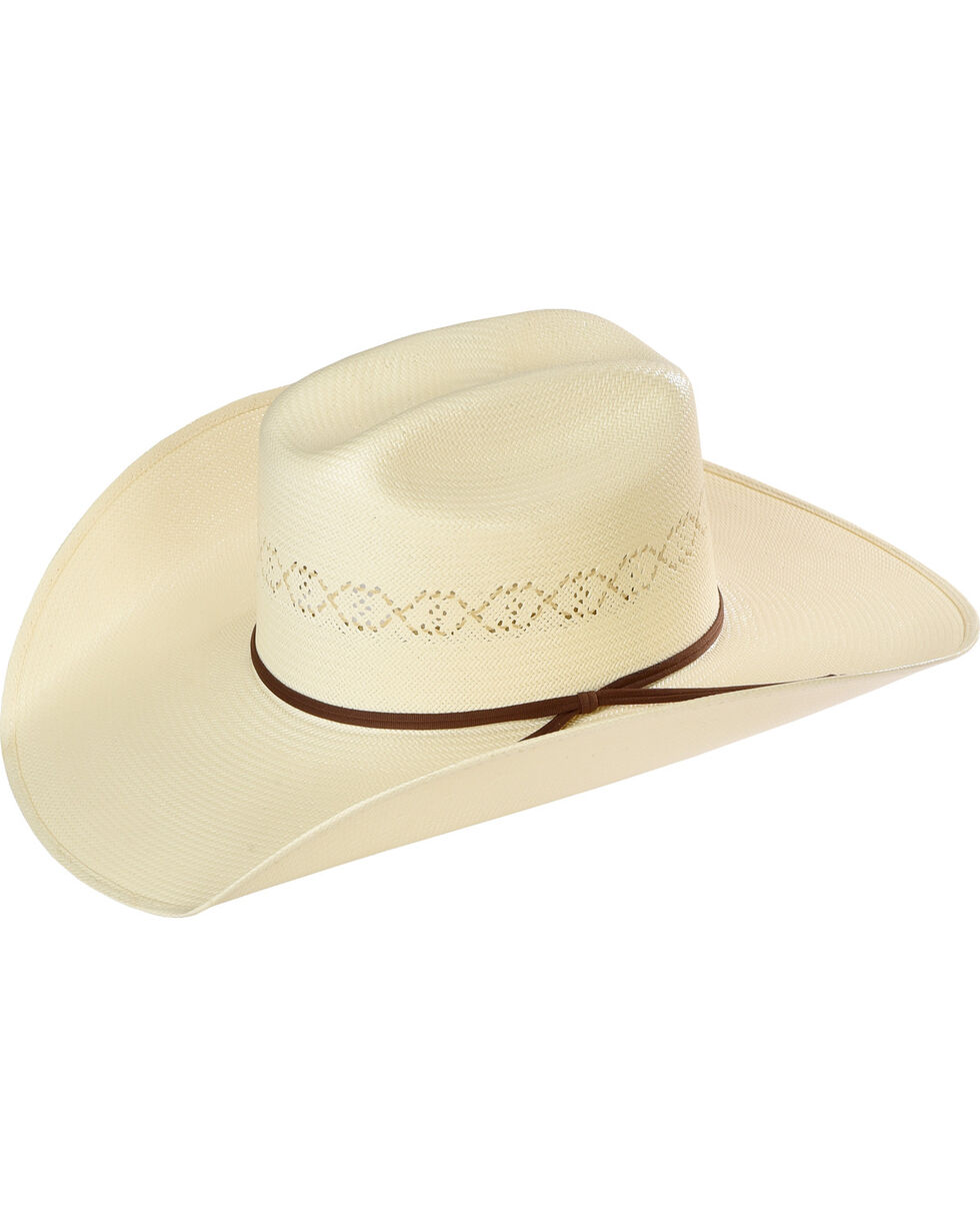 Resistol Men's 20X Cade Straw Hat, Tan, hi-res