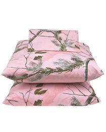 Realtree All Purpose Pink Full Sheet Set, , hi-res
