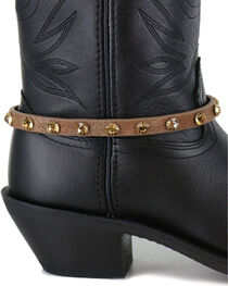 Shyanne® Women's Crystal Boot Bracelet , , hi-res