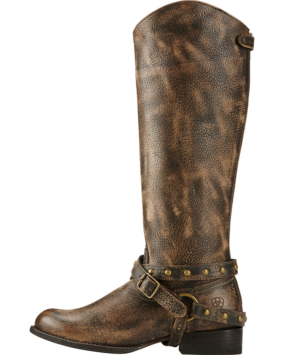 Ariat Brooklyn Brown Manhattan Fashion Western Boots, Brown, hi-res