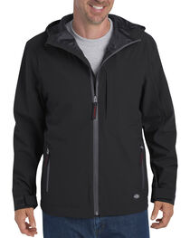 Dickies Men's Waterproof Breathable Hooded Jacket, , hi-res