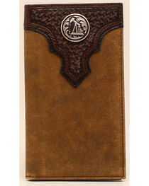 Ariat Oil Rig Concho Rodeo Wallet, , hi-res