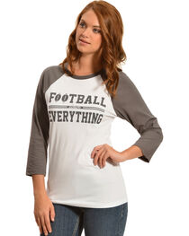 ATX Mafia Football Above Everything Baseball Tee, , hi-res
