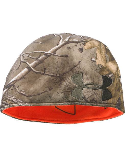 Under Armour Men's Reversible Mossy Oak Beanie, Camouflage, hi-res