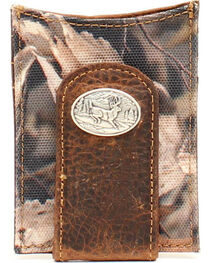 Ariat Camo Deer Concho Money Clip, , hi-res