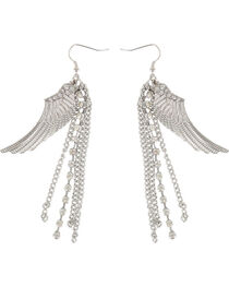 Shyanne® Women's Dangle Wing Earrings, , hi-res