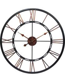 """Infinity Instruments 28"""" Metal Fusion Wall Clock, , hi-res"""