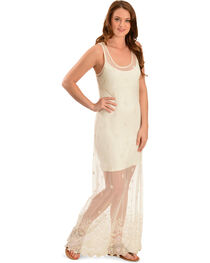 Black Swan Women's Puebla Lace Maxi Dress, , hi-res