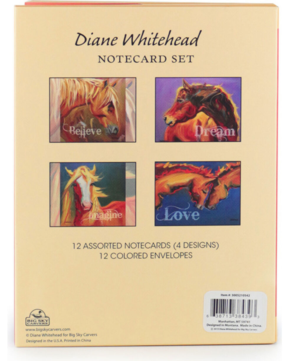Big Sky Carvers Diane Whitehead Western Notecard Set, No Color, hi-res