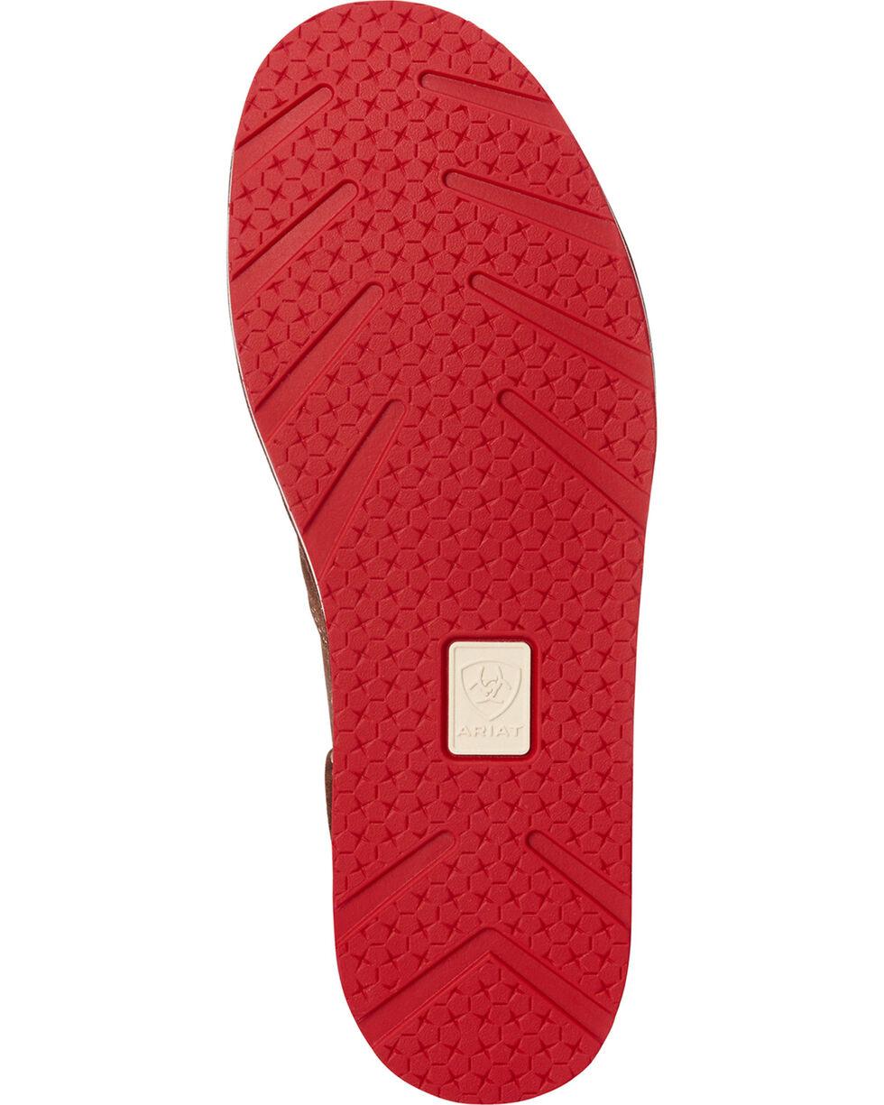Ariat Women's Red Paisley Print Slip On Cruiser Shoes , Multi, hi-res