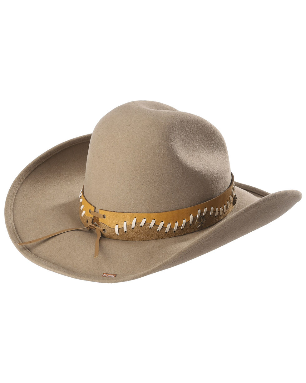 Bullhide Women's Pistol Creek Wool Hat, Sand, hi-res