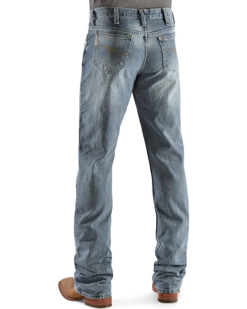 Cinch Men's Dooley Boot Cut Jeans, Light Stone, hi-res