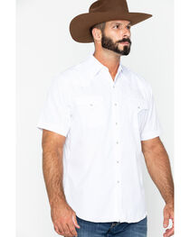Ely Cattleman Men's Tone On Tone Western Shirt, , hi-res