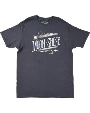 Moonshine Spirit Men's White Lightning Graphic Tee, Navy, hi-res