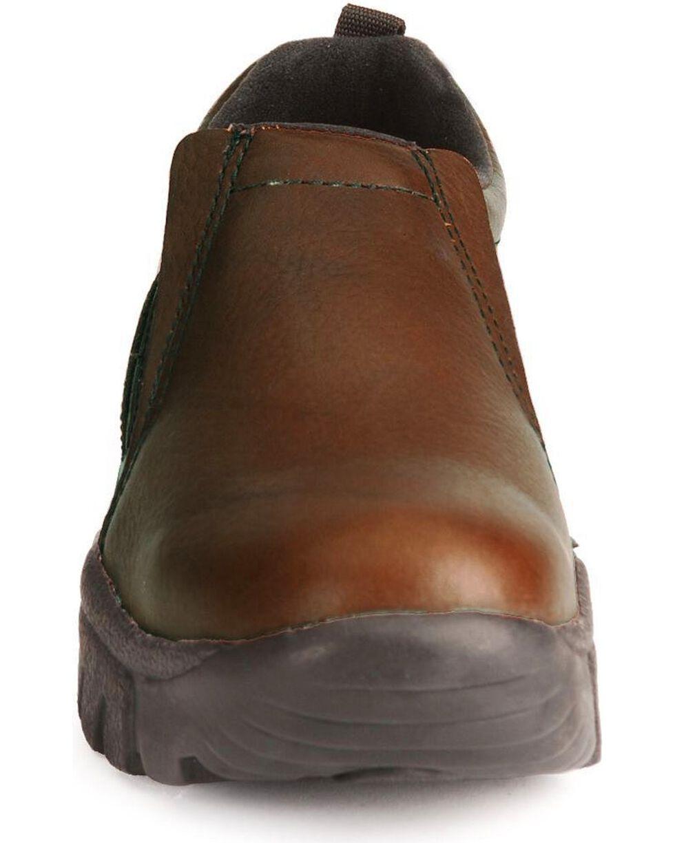 Roper Footwear Men's Performance Sport Slip On Shoes, Bay Brown, hi-res
