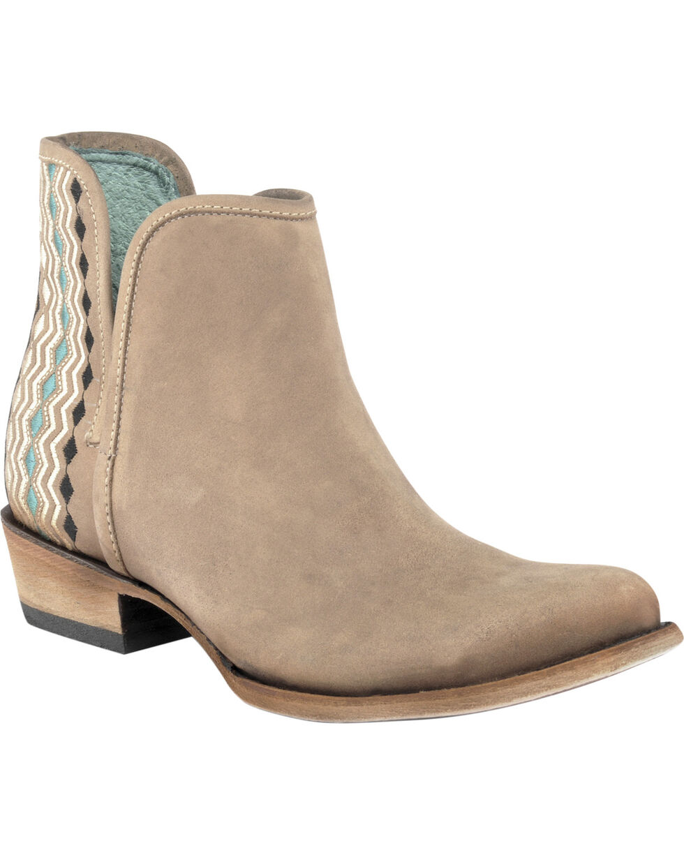 Corral Women's Back Stitch Ankle Boots, Sand, hi-res