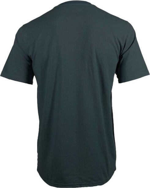 Timberland Pro Men's Navy Base Plate Blended T-Shirt , Navy, hi-res