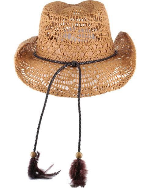 Shyanne®  Women's Brackley Straw Hat, Tan, hi-res