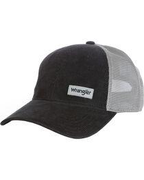 Wrangler Men's Word Mark Mesh Back Cap, , hi-res