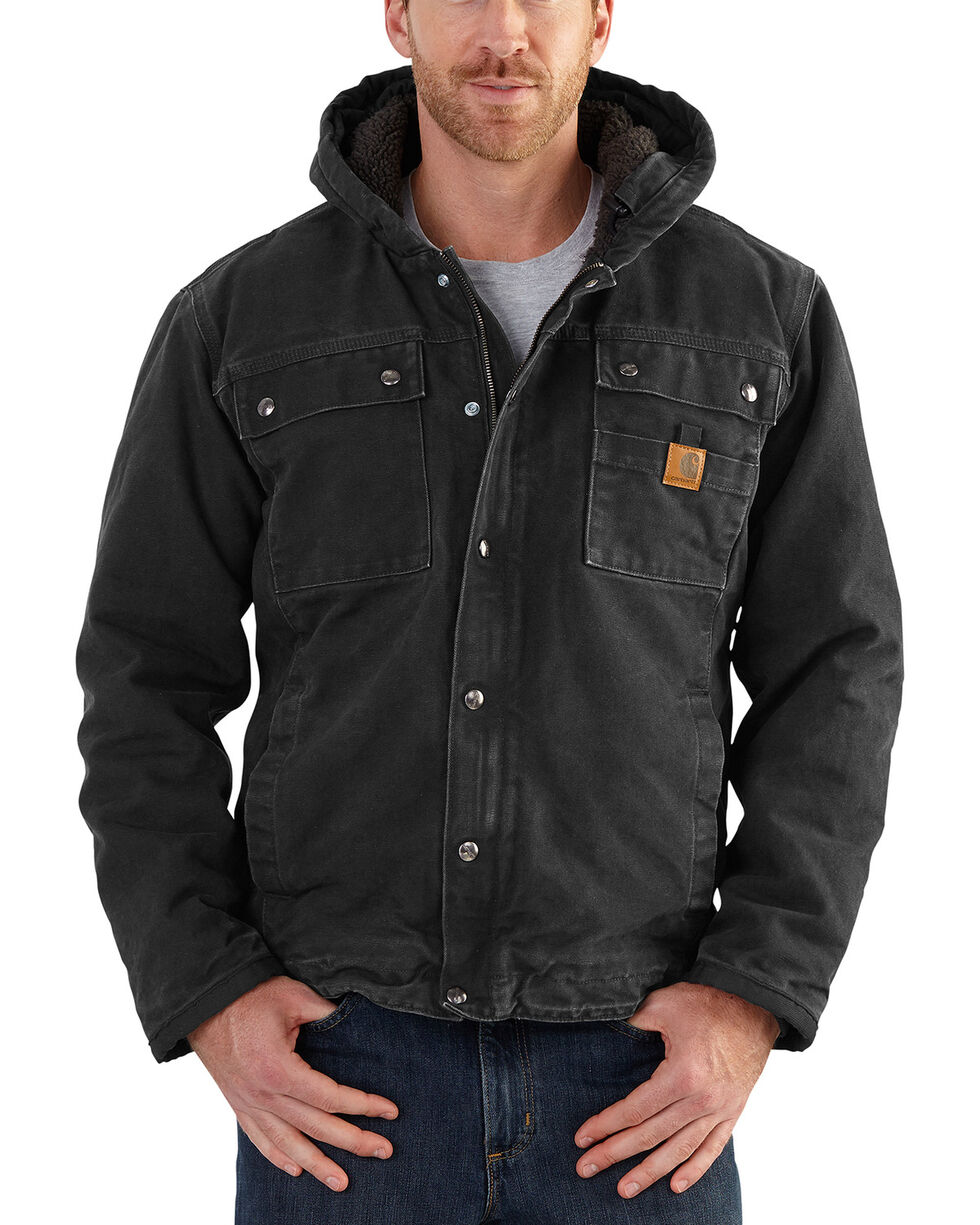 Carhartt Men's Bartlett Jacket , Black, hi-res