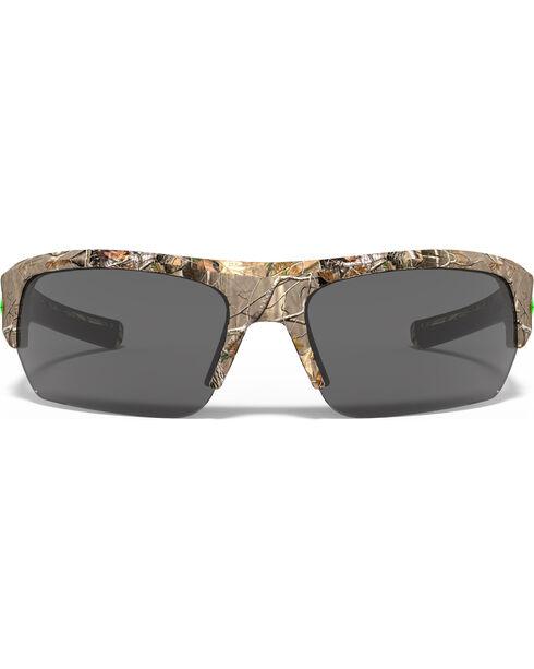 Under Armour Men's Realtree Camo UA Big Shot Sunglasses , Camouflage, hi-res