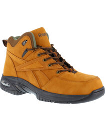 Reebok Men's Tyak High Performance Hiker Work Boots - Composition Toe, , hi-res