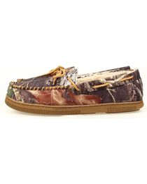 Double Barrel Youth Boys' Camo Moccasins, , hi-res