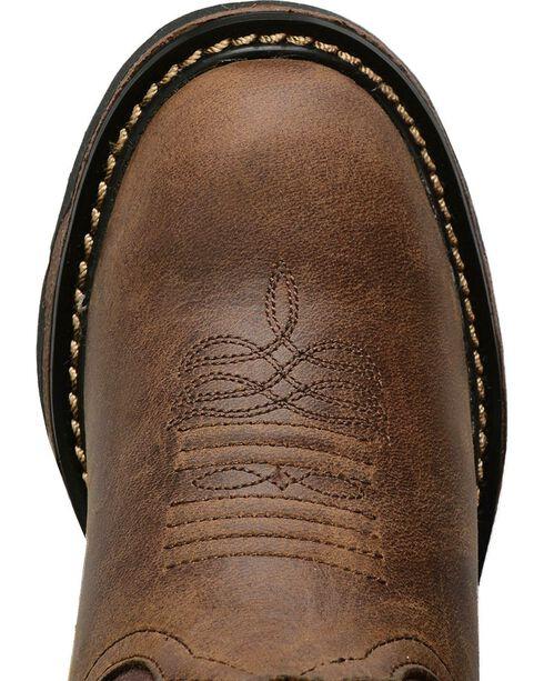 Tony Lama Boys' Crazy Horse Western Work Boots - Round Toe, Crazyhorse, hi-res