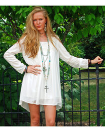 Tasha Polizzi Women's Ivory Genevieve Dress, , hi-res