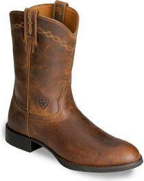 "Ariat Men's Heritage Roper 10"" Western Boots, , hi-res"