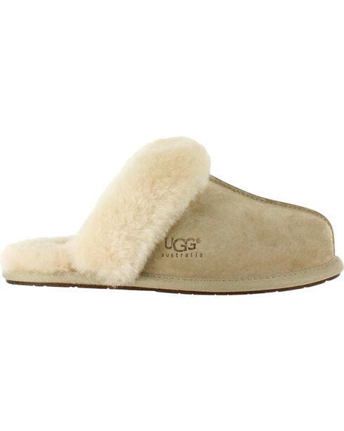 UGG Women's Sand Scuffette II Slippers , Sand, hi-res