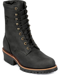 """Chippewa Men's  Odessa 8"""" Lace-Up Work Boots, , hi-res"""