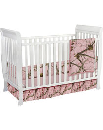 Carstens Pink Realtree AP Camo Crib Set - 3 Piece , , hi-res
