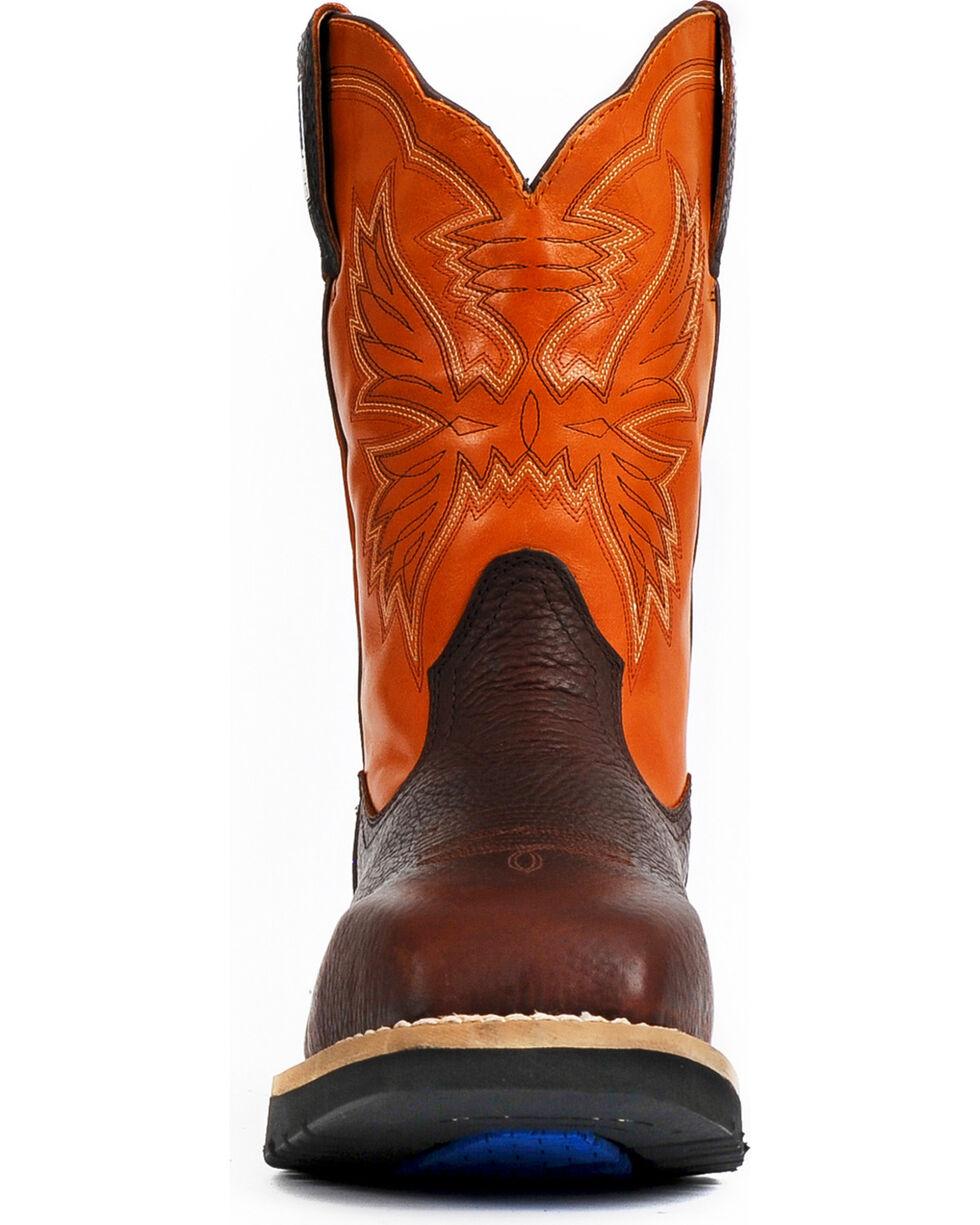 Cinch Men's Waterproof Steel Toe Work Boots, Brown, hi-res