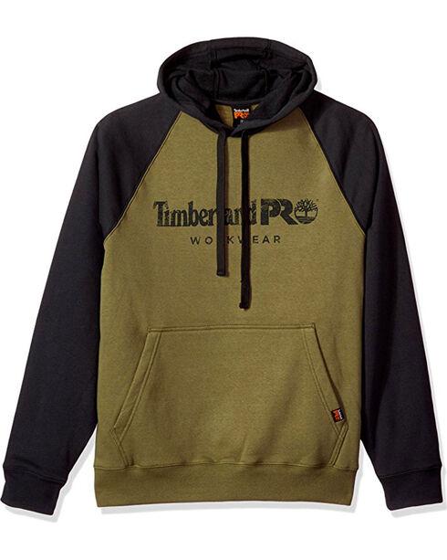 Timberland Pro Men's Olive Honcho Sport Pullover Hoodie , Black, hi-res