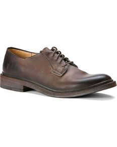 Frye Mens James Oxford Shoes Brown hires